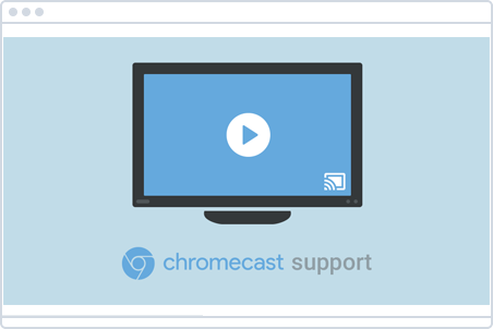 chromecast support